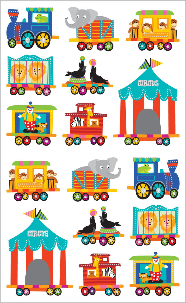 Circus Train Stickers