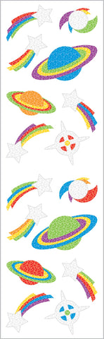 Sparkle Space Stickers
