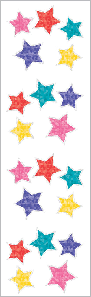 Sparkle Jewel Stars Stickers