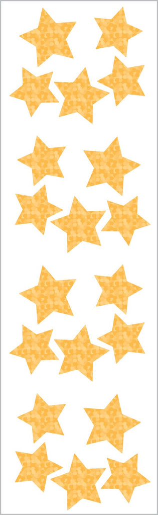 Sparkle Gold Star Stickers