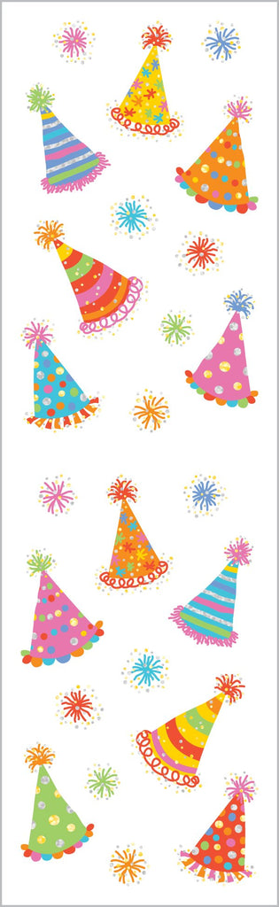 Magical Party Hats Stickers