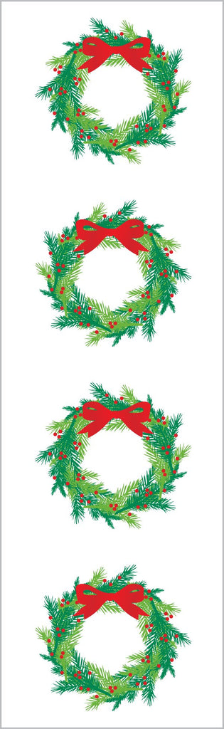 Bright Wreath Stickers