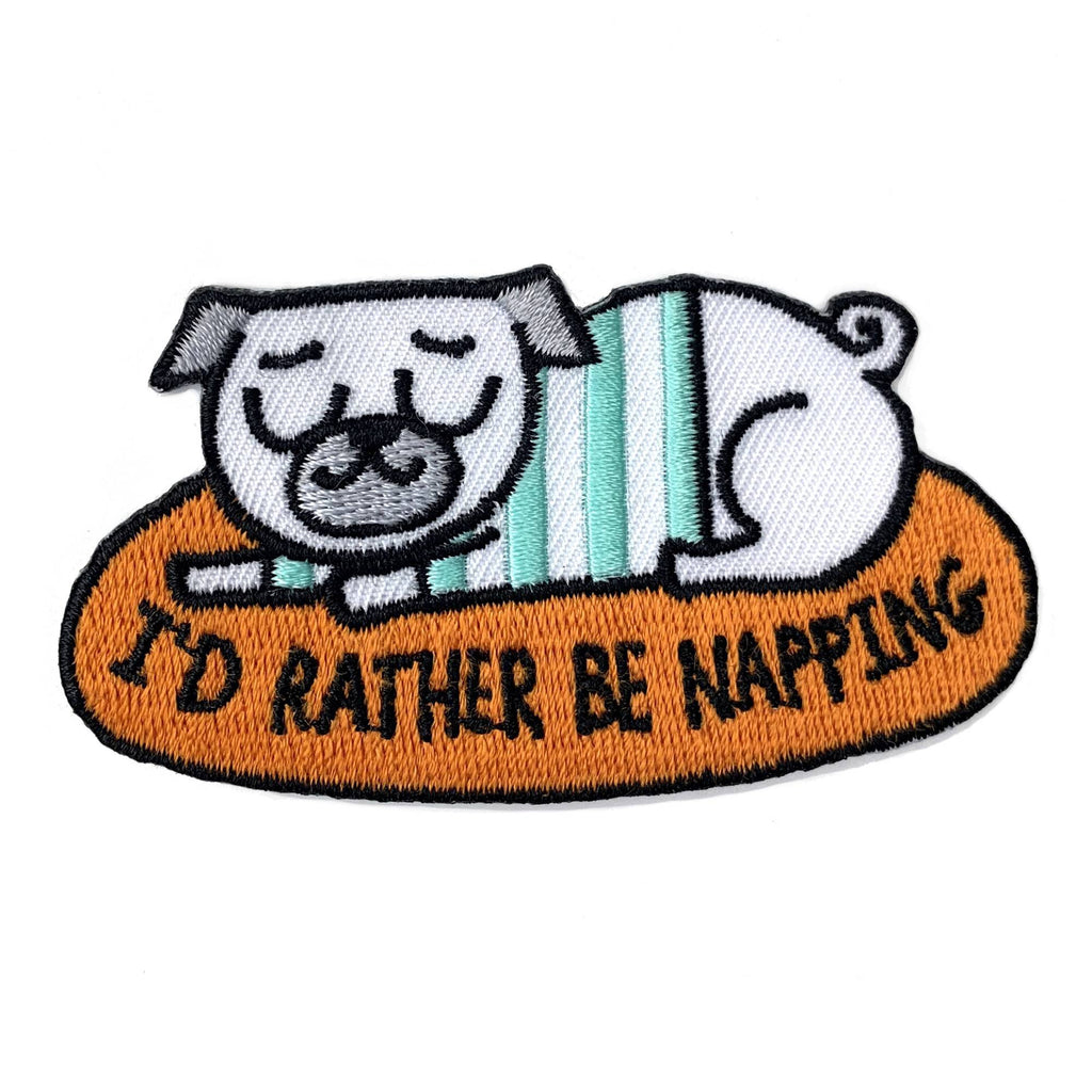 I'd Rather Be Napping Patch
