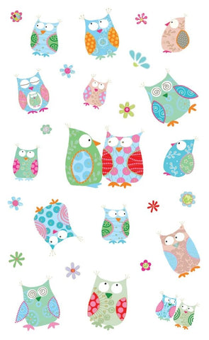 Wise Little Owls Stickers