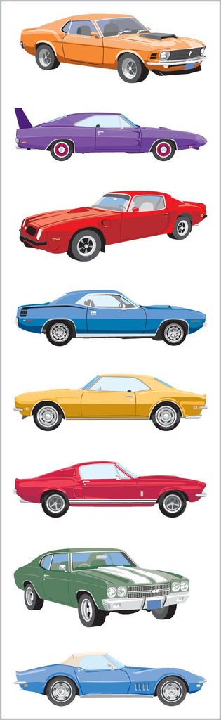 Classic Cars Stickers