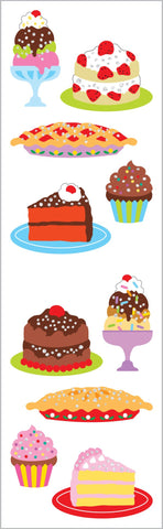 Just Desserts Stickers