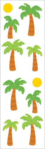 Palm Trees & Sun Stickers