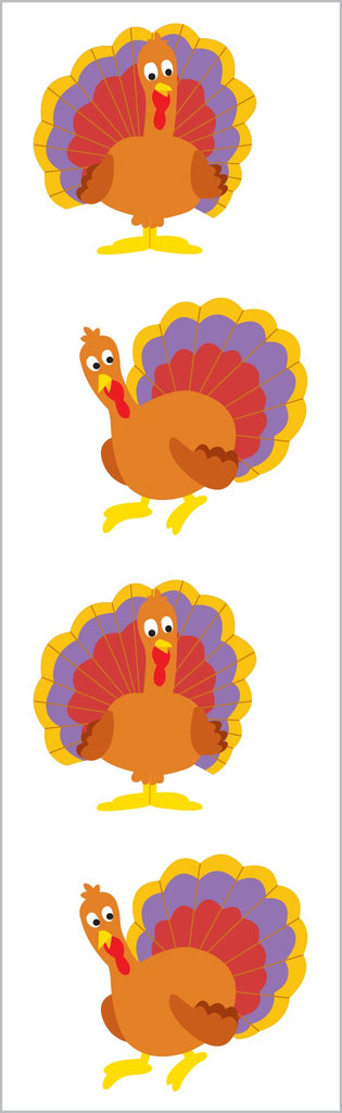 Gobble Gobble Stickers