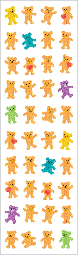 Sparkle Bears, Micro Stickers