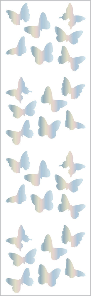 Holographic Butterflies Stickers
