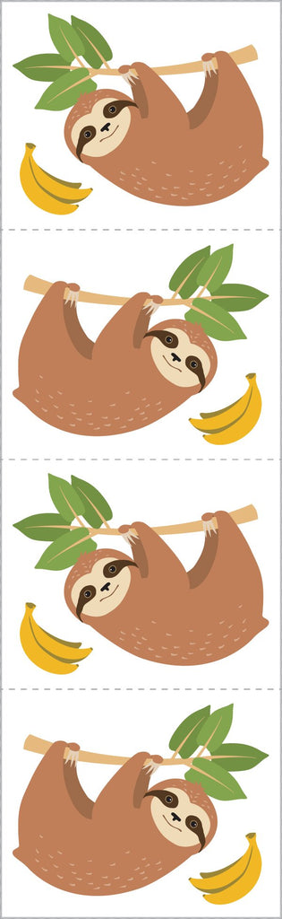 Cheerful Sloths Stickers