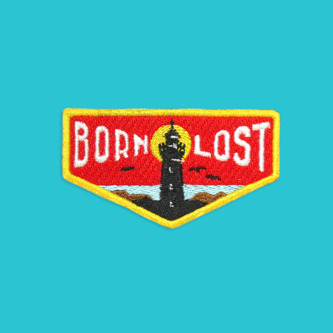 Born Lost Patch