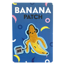 Chenille Banana Rocker Patch