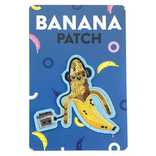 Sequin Banana Rocker Patch