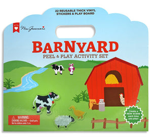 Barnyard Peel & Play Activity Set