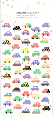 CC Cars Sticker Sheet