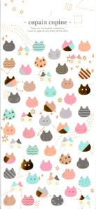 CC Cats Sticker Sheet