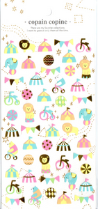 CC Circus Sticker Sheet