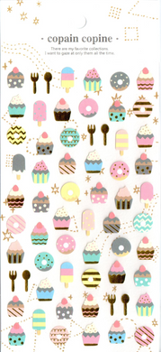 CC Desserts Sticker Sheet