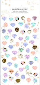 CC Diamonds Sticker Sheet
