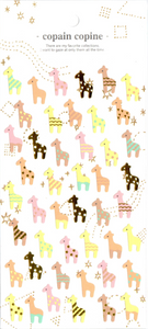 CC Giraffes Sticker Sheet