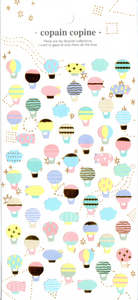 CC Hot Air Balloons Sticker Sheet