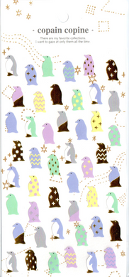 CC Penguins Sticker Sheet