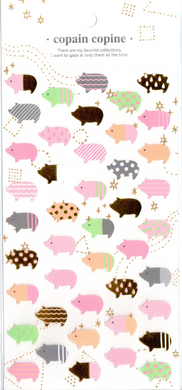 CC Pigs Sticker Sheet