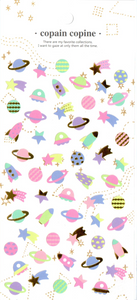 CC Planets Sticker Sheet