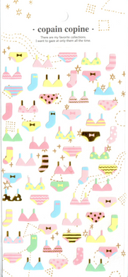 CC Underwear Sticker Sheet