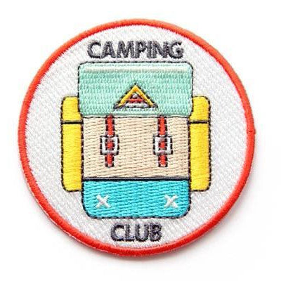 Camping Club Patch