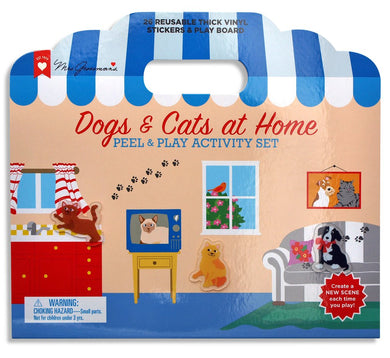 Dogs and Cats at Home Peel & Play Activity Set
