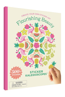 Flourishing Beauty Sticker Kaleidoscopes™ Book