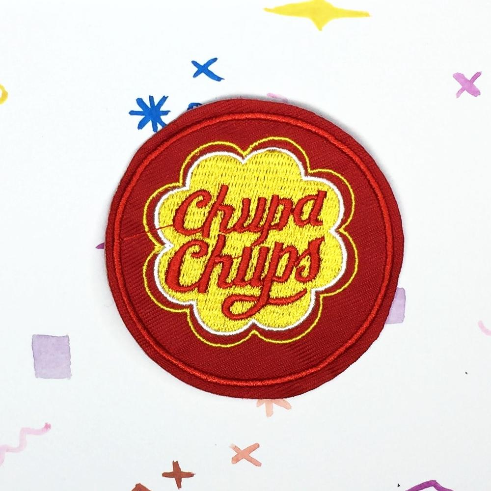 Red Chupa Chups Patch
