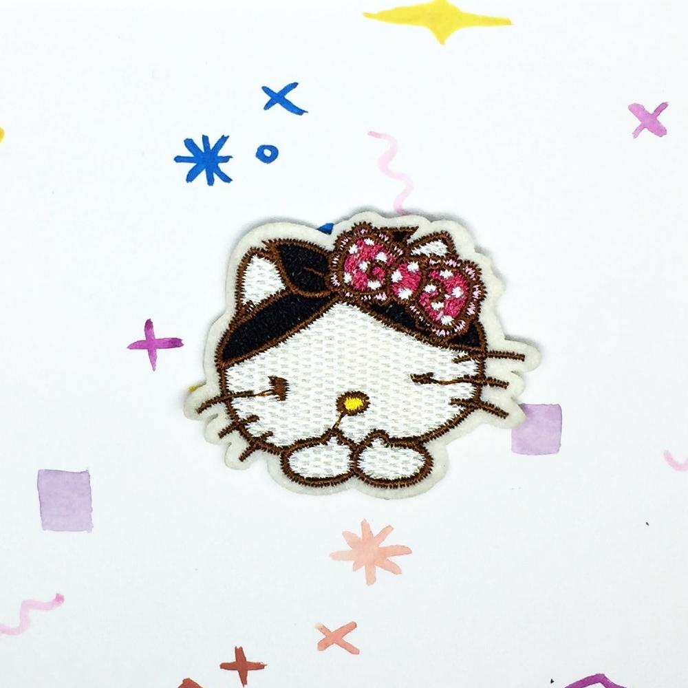 Hello Kitty Bandana Patch