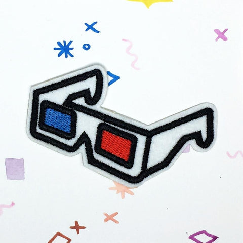 3D Glasses Patch