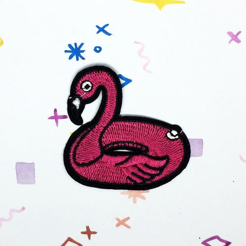 Flamingo Floater Patch