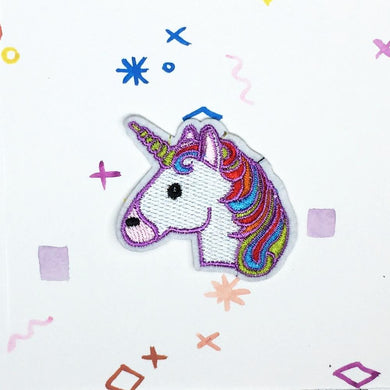 Unicorn Head Patch
