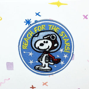Snoopy Reach for the Stars Patch