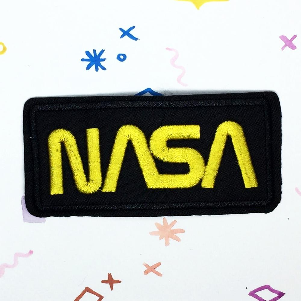 Black NASA Patch