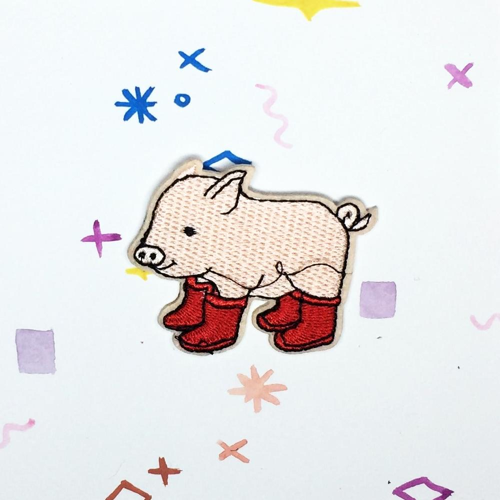 Pig in Boots Patch