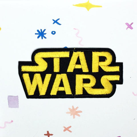 Yellow Star Wars Patch