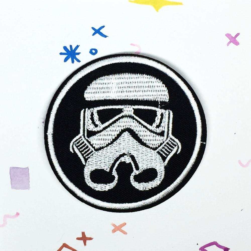 Storm Trooper Badge Patch