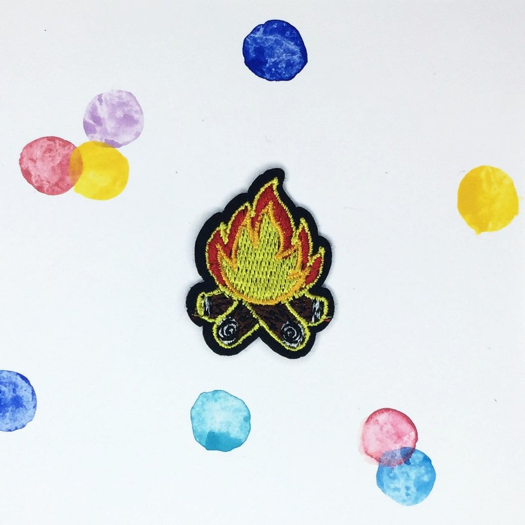Small Camp Fire Patch