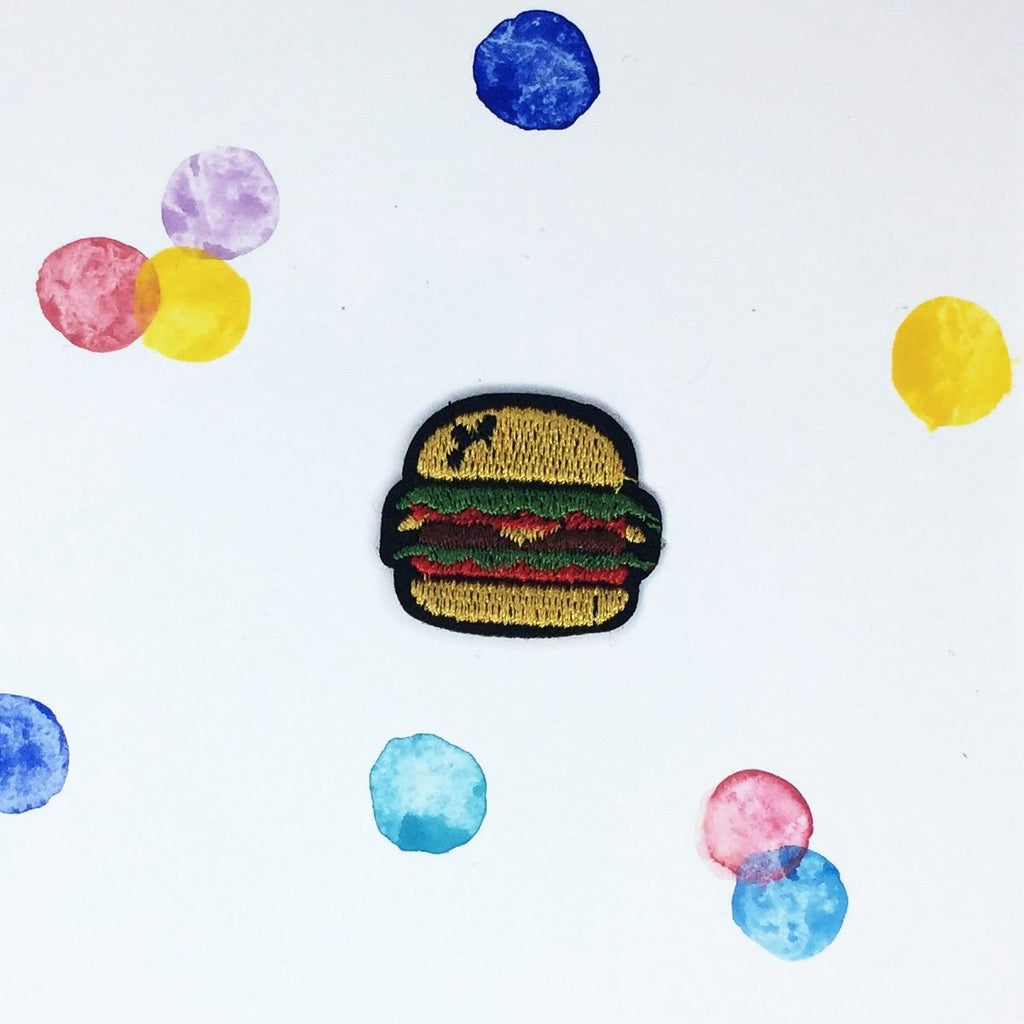 Small Burger Patch