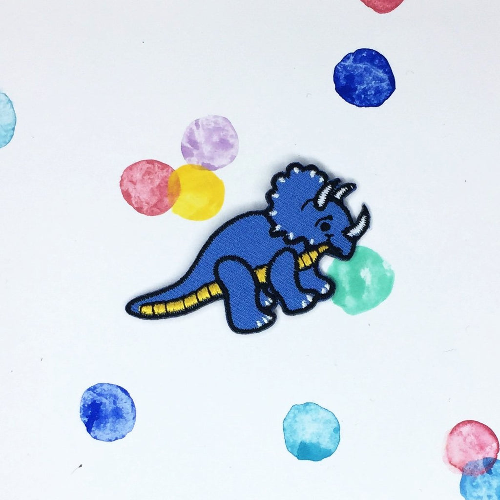 Small Triceratops Patch