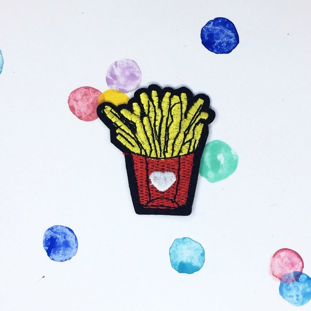 Small French Fries Patch