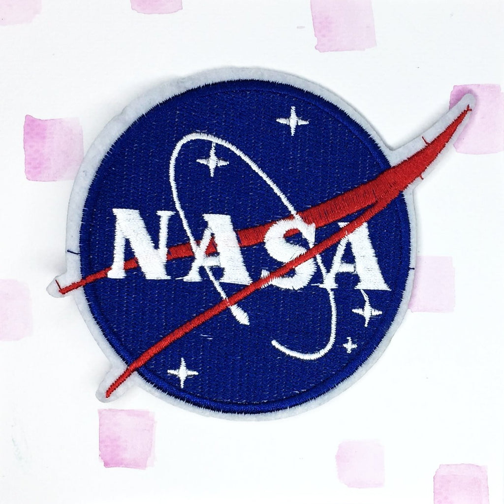 Round NASA Patch