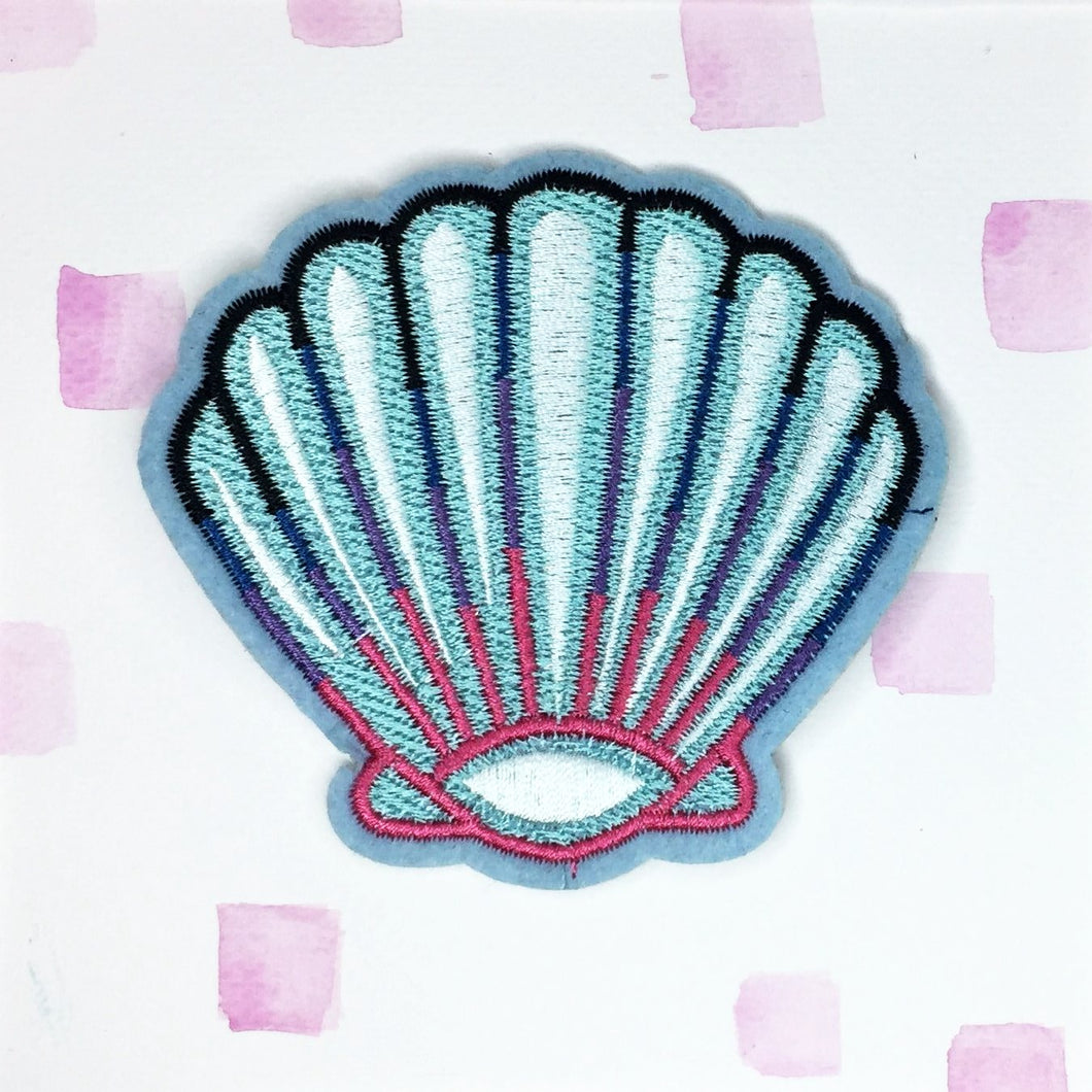 Turquoise Shell Patch