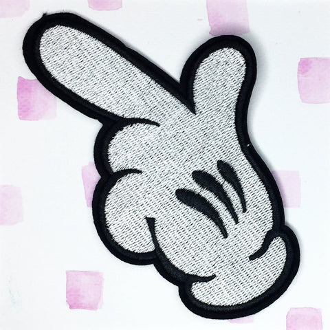 Mickey Mouse Hand Patch